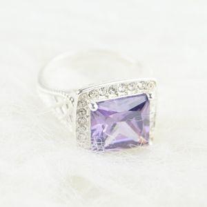 NWOT | Avon | Purple & Silver Ring